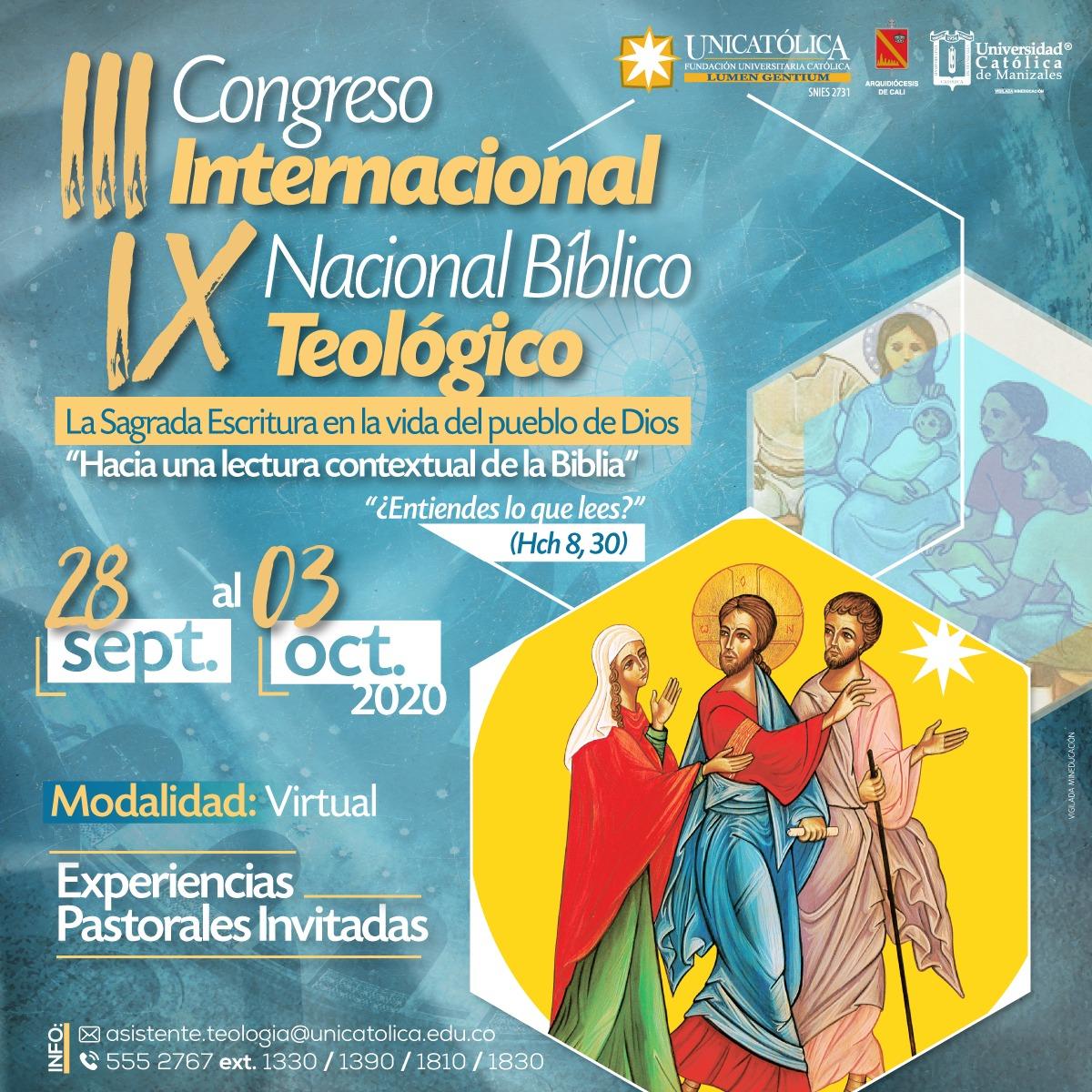 Congreso Bíblico-Teológico Internacional en Colombia